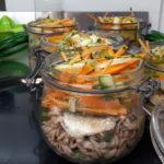 bocal Koan par NOUR, repas complet solo ou duo, à savourer chaud ou froid